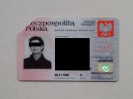 Poland Pologne Identity Card Carte D'identité - Andere Sammlungen