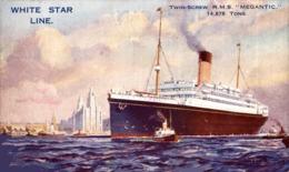 R.M.S. MEGANTIC Orion, Orient Line. CARGO SHIP - Paquebote