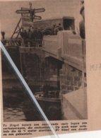 """HEYST..1937.. BOTSING MET VERHUISWAGEN """"GODDERIS FRÉRES"""" - Zonder Classificatie"""