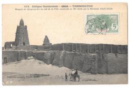 CPA..    AFRIQUE OCCIDENTALE   SOUDAN ...TOMBOUCTOU..DJINGEREY-BER....1913...TBE SCAN - Sudan