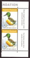 Belgique 2015 - Canard Souchet COB 4537 # MNH # Pair - Neufs