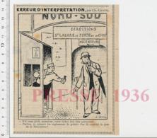 Humour Métropolitain Métro Nord-Sud Saint-Lazare Porte De La Chapelle Poinçonneur Ticket Ancien Confetti Mi-carême CHV20 - Zonder Classificatie