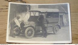 Carte Photo Avec Tacot A Définir, Annee 1913   …... … NR-4021a - Postcards