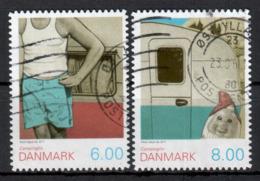 DÄNEMARK - 2011 - MiNr. 1640 + 1641 BC - Used - Gestempelt - Danimarca