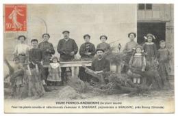 33-SAMONAC-Pépinière A. SARAMIAT, Vigne Franco-Américaine, Plants Soudés... 1912  Animé - Francia