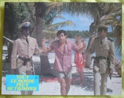10 Photos Du Film Tout Le Monde Peut Se Tromper (1983) - Albums & Collections