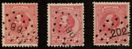 "NTH SC #25 U (3) 1972 King William III ""w/99"" ""196"" ""202"" CV $4.80 - Usati"