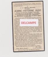 DOODSPRENTJE HUGO JEANNE EPOUSE GHEYSEN WERVICQ 1895 -1927 Bewerkt Tegen Kopieren - Devotion Images