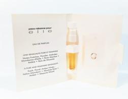 échantillons De Parfum   Tubes  PACO RABANNE POUR ELLE  De PACO RABANNE  EDP  1.5 Ml - Echantillons (tubes Sur Carte)