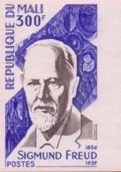 République Du MALI : 1979 : Y. : Unperforated Stamp : SIGMUND FREUD,PSYCHOLOGIE,PSYCHIATRIE,PSYCHOLOGY,PSYCHIATRY, - Mali (1959-...)