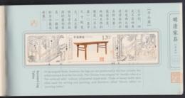 "CHINA 2012, Stamp Booklet ""Tables Ming Dynasty"", Komplete, Unmounted Mint - Blocks & Kleinbögen"