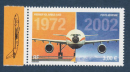 Poste Aérienne N° 65 A , Anniversaire Du 1er Vol De L'Airbus A 300 Provenant De La Feuille De 10 Timbres , Port Gratuit - Poste Aérienne