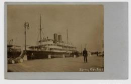 Pola  Pula Schiff, Ship  BARON GAUTSCH Hafenkai Ca. 1910y.  D174 - Croazia
