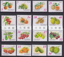 """TAIWAN 2001 - 2003, 4 Series """"Fruits"""", Superb Unmounted Mint - 1945-... Republic Of China"""