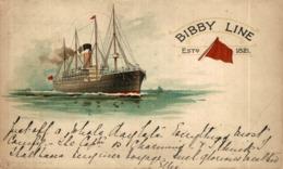BIBBY LINE Orion, Orient Line. CARGO SHIP - Paquebote