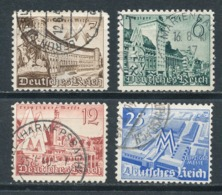Deutsches Reich 739/42 Gestempelt Mi. 3,20 - Gebraucht