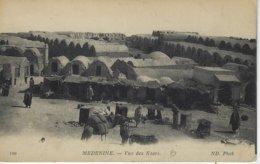 TUNISIE ( Afrique ) - MEDENINE - Vue Des Ksars ( Destinée Au 1 Er Regiment  , Bataillon K, Section Mitrailleuse ...) - Tunisie