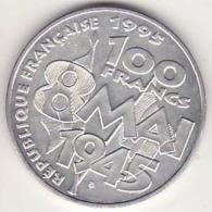 France, 100 Francs1995, Les 100 Ans Du 1er Mai, Sup., Argent - N. 100 Franchi