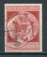 Deutsches Reich 744 Gestempelt Mi. 8,- - Gebraucht