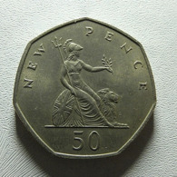 Great Britain 50 Pence 1969 - 1902-1971 : Monedas Post-Victorianas