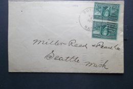 USA: 1904 Cover To Seattle, Wash. (#HV11) - Storia Postale