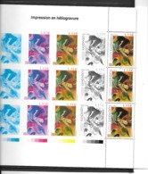 France;Feuillet Du Livre (Impressions/Expressions) Ouvrage De Luxe N° 4003 (timbre N°3585 - Nuovi