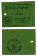1914- 1918 // P.O.W. // Bon De Prisonnier De Guerre RUSSE // StraBburg // 2 Mark - Bons & Nécessité
