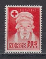 Norway 1945 - 80 Jahre Norwegisches Rotes Kreuz, Mi-Nr. 307, MNH** - Norwegen