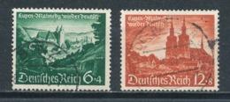 Deutsches Reich 748/49 Gestempelt Mi. 7,50 - Gebraucht