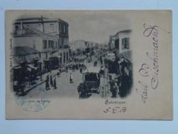 Turkey 253 Salonique 1900 Osterreichische Post Horse Tram - Türkei