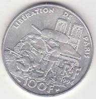 France, 100 Francs1994, Libération DeParis, Sup., Argent - N. 100 Francs