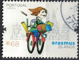 Portugal 2012 Oblitéré Used 25 Ans Erasmus SU - France