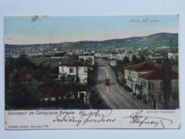Turkey 252 Salonique 1900 Osterreichische Post - Türkei