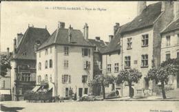 Luxeuil Les Bains Place De L Eglise - Luxeuil Les Bains