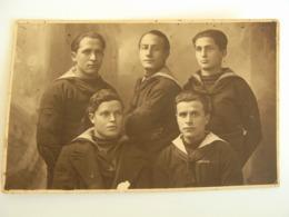 1920 M. MARINO ANCONA   REGIA MARINA MILITARE Italiana  FOTOCARTOLINA   MILITARE   FORMATO  PICCOLO  FOTOGRAFICA - Uniformi