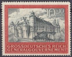 OCCUPAZIONE TEDESCA POLONIA - 1944 - Yvert 136 Nuovo Senza Gomma. - 1939-44: 2ème Guerre Mondiale