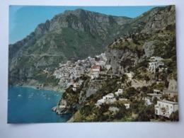 Q236  CARTOLINA Di POSITANO SALERNO   VIAGGIATA - Salerno