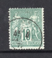 YT 76 -BEAU TIMBRE DE BONNE QUALITE - COTE 325 € - 1876-1898 Sage (Tipo II)
