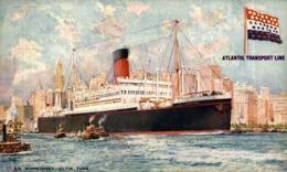 S.S. MINNETONKA Orion, Orient Line. CARGO SHIP - Paquebote