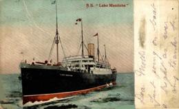 S.S. LAKE MANITOBA Orion, Orient Line. CARGO SHIP - Paquebote