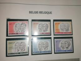 PERSONNALIT2S BELGES 5cob 1176 A 1181°* - Belgium