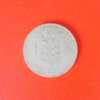 1 Franc Münze Aus Belgien Von 1950 (schön) - 1945-1951: Regentschaft