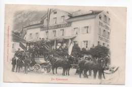 Andermatt Klausenpost Postkutsche 1900-  - - - - 384 - UR Uri