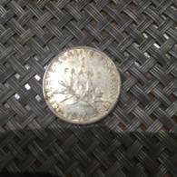 - Monnaies Argent - 1 Franc -  Pièces De 1916  - - Frankreich
