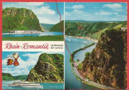 Rhein - Romantik, Im Felsental Der Loreley - Loreley