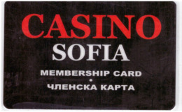 BULGARIA KEY CASINO    Casino Sofia - Casinokarten