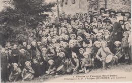 CPA Colonie De Vacances Notre-Dame - Pèlerinage à N.-D. D'Aulignac (Ourjout, Près Castillon) (avec Tambours) - France