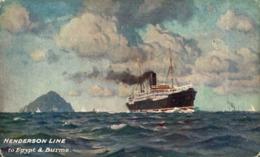 HENDERSON LINE Orion, Orient Line. CARGO SHIP - Paquebote