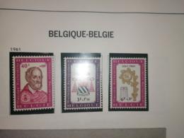 Quatrieme Centenaire De La Promotion De Malines (COB 1188 A 1190)* - Belgium