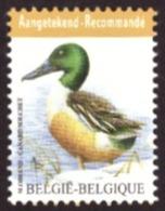 Belgique 2015 - Canard Souchet COB 4537 # MNH # - Neufs